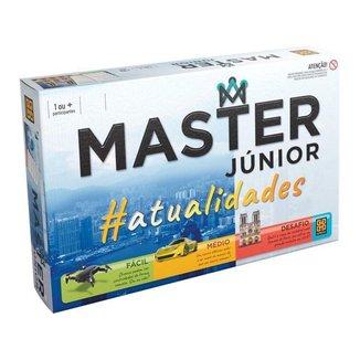 Jogo Master Júnior Atualidades Tabuleiro Grow