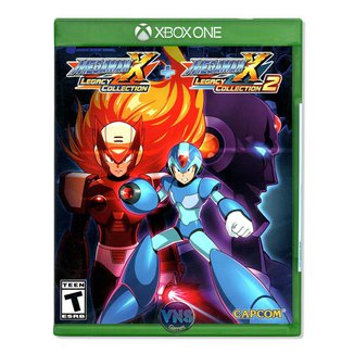 Jogo Mega Man X Legacy Collection 1+2  Xbox One