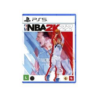 Jogo Midia Fisica de Basquete 2kGames NBA 2k22 Playstation 5