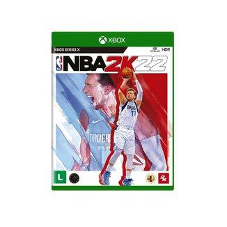 Jogo Midia Fisica de Basquete 2kGames NBA 2k22 Xbox Series X