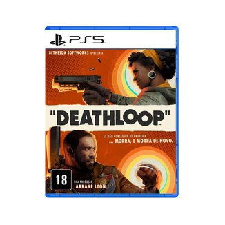 Jogo Midia Fisica Deathloop Bethesda Softworks Playstation 5