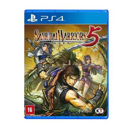 Jogo Midia Fisica Samurai Warriors 5 Playstation 4 KoeiTecmo
