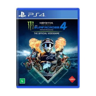 Jogo Monster Energy Supercross - The Official Videogame 4 - PS4
