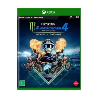 Jogo Monster Energy Supercross - The Official Videogame 4 - Xbox