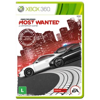 Jogo Need For Speed: Most Wanted Xbox 360