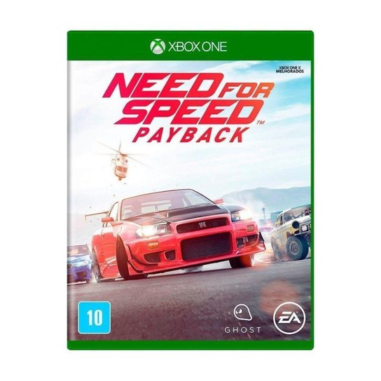 Jogo Need for Speed: Payback - Xbox One - Incolor