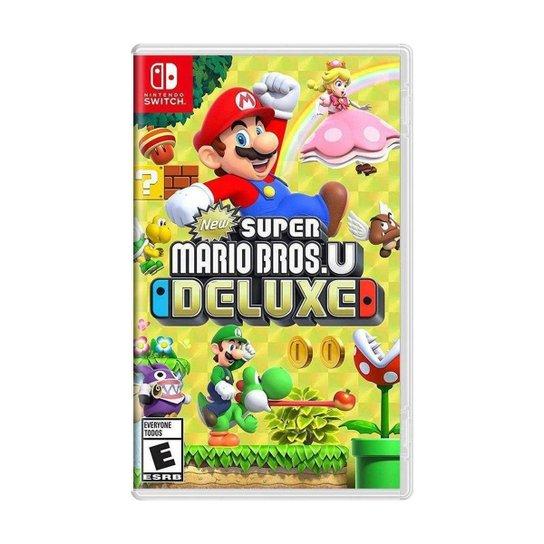 Jogo New Super Mario Bros. U Deluxe - Switch - Incolor