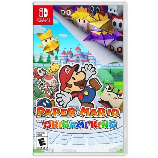 Jogo Paper Mario The Origami King  Switch - Incolor