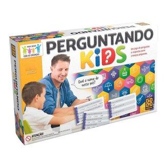 Jogo Perguntando Kids Tabuleiro Grow