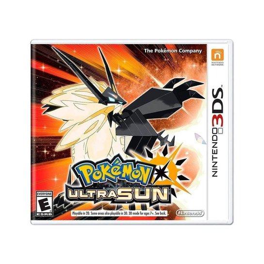 Jogo Pokémon Ultra Sun - 3DS - Incolor