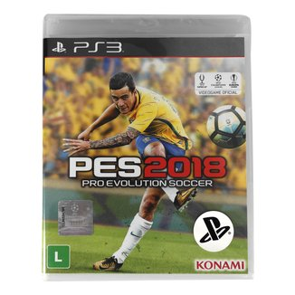 Jogo Pro Evolution Soccer (PES) 2018 PS3
