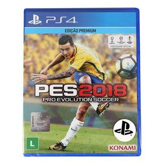 Jogo Pro Evolution Soccer (PES) 2018 PS4