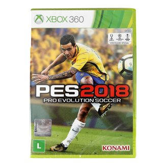 Jogo Pro Evolution Soccer (PES) 2018 Xbox 360