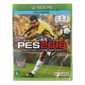 Jogo Pro Evolution Soccer (PES) 2018 Xbox One