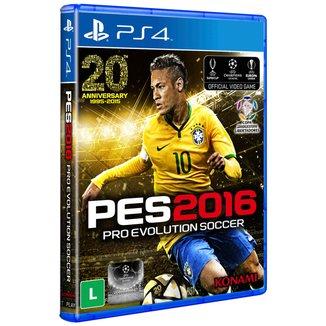 Jogo Pro Evolution Soccer 2016 PS4
