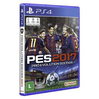 Jogo Pro Evolution Soccer 2017 PS4