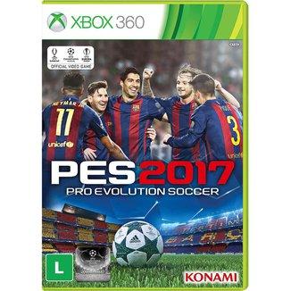 Jogo Pro Evolution Soccer 2017 Xbox 360