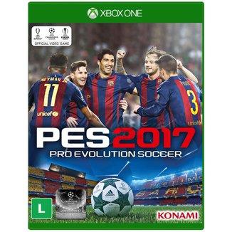 Jogo Pro Evolution Soccer 2017 Xbox ONE