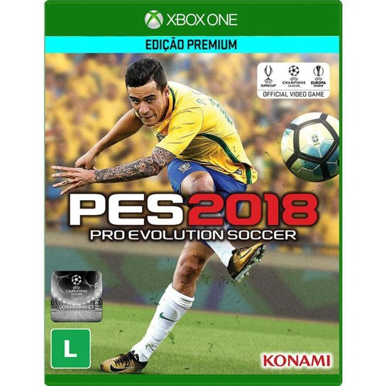 Jogo Pro Evolution Soccer 2018 Xbox One - Incolor