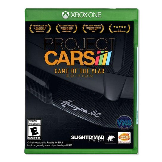 Jogo Project Cars  Game of The Year Edition  Xbox One - Incolor