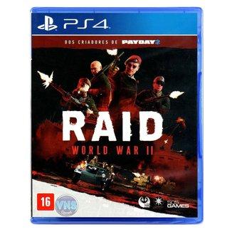 Jogo Raid World War II  PS4
