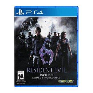 Jogo Resident Evil 6 Ps4