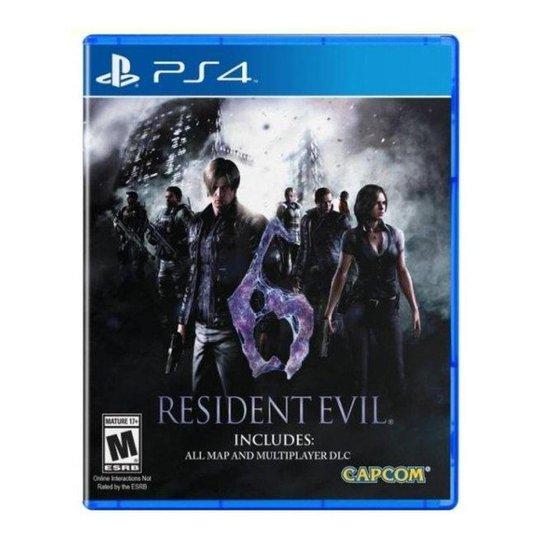 Jogo Resident Evil 6 Ps4 - Incolor