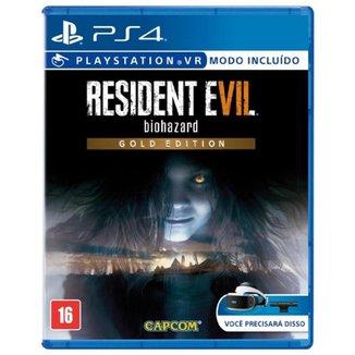 Jogo Resident Evil 7 Biohazard Gold Edition para PS4