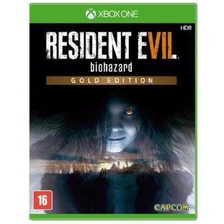 Jogo Resident Evil 7 Biohazard Gold Edition para Xbox One