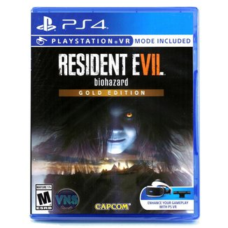 Jogo Resident Evil 7 biohazard  Gold Edition  PS4