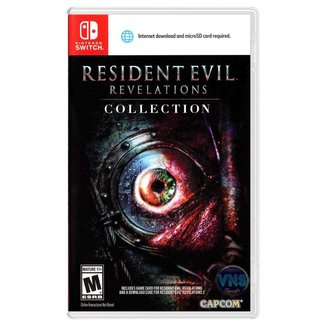 Jogo Resident Evil Revelations Collection  Switch