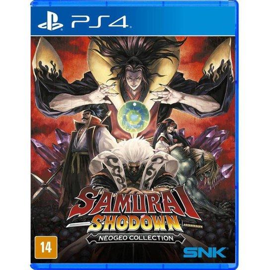 Jogo Samurai Shodown Neogeo Collection  PS4 - Incolor