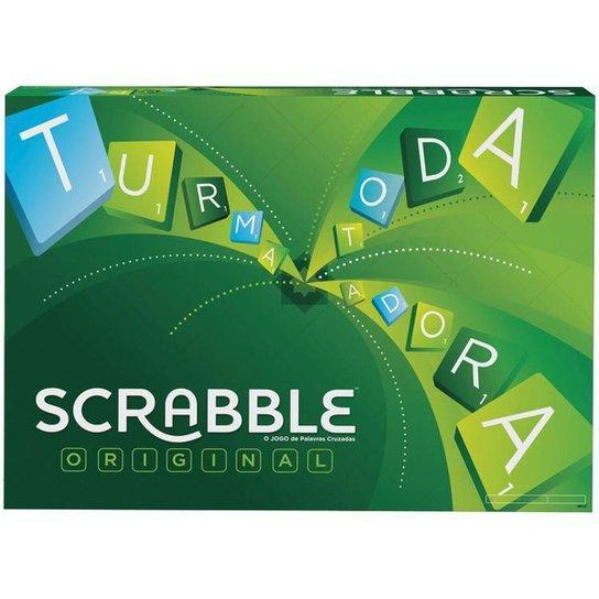 Jogo Scrabble Original Tabuleiro Mattel - Colorido
