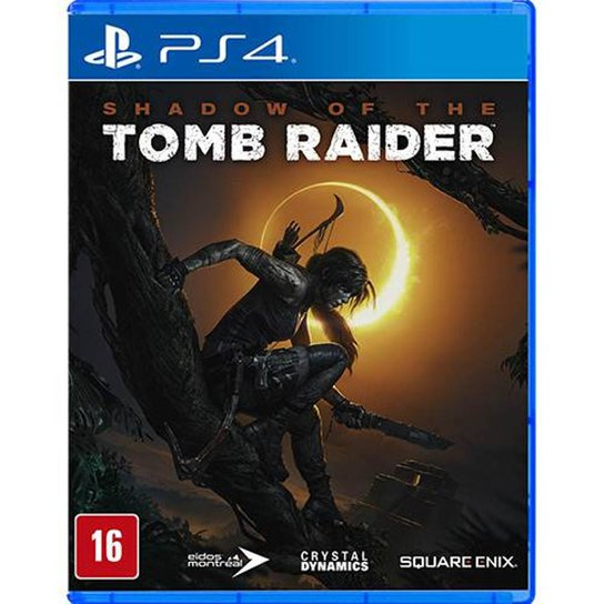 Jogo Shadow Of The Tomb Raider Ps4 - Incolor
