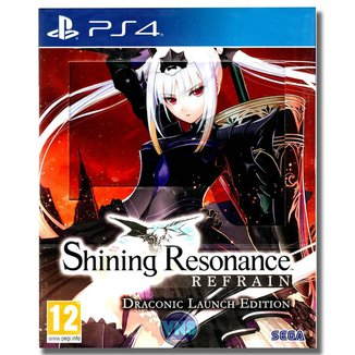 Jogo Shining Resonance Refrain  Draconic Launch Edition  PS4