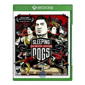 Jogo Sleeping Dogs Definitive Edition  Xbox One