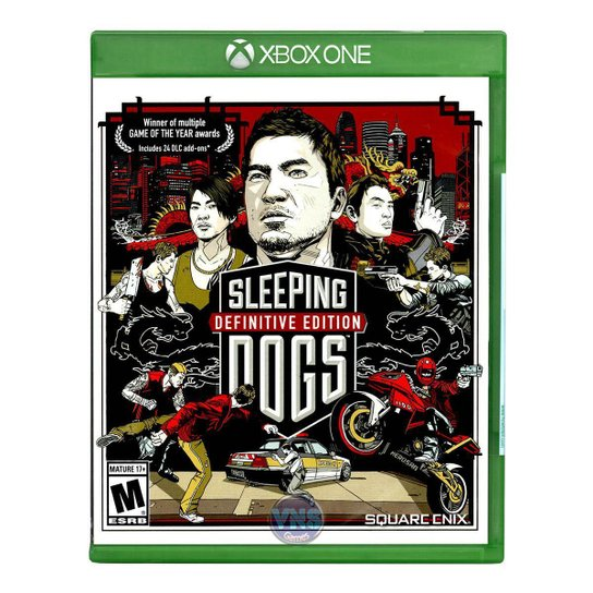 Jogo Sleeping Dogs Definitive Edition  Xbox One - Incolor