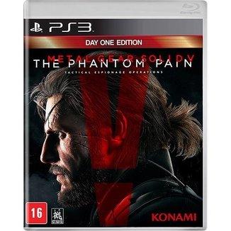 Jogo Sony Metal Gear Solid V: The Phantom Pain - Ps3