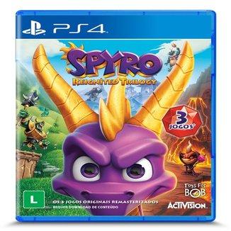 Jogo Spyro Reignited Trilogy Ps4