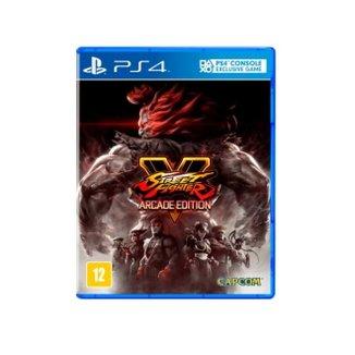 Jogo Street Fighter V: Arcade Edition Br Ps4