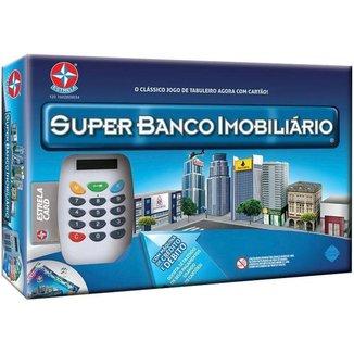 Jogo Super Banco Imobiliário Tabuleiro Estrela