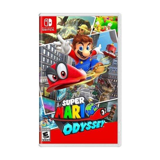 Jogo Super Mario Odyssey - Switch - Incolor