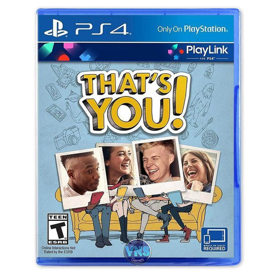 Jogo That's You  PS4 - Incolor