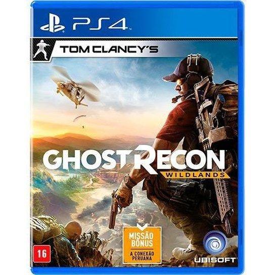 Jogo Tom Clancys Ghost Recon Wildlands - PS4 - Incolor