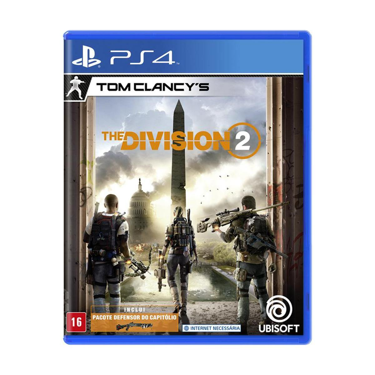Jogo Tom Clancy's The Division 2 - PS4 - Incolor