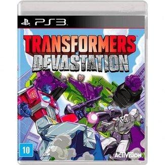 Jogo Transformers Devastation - Ps3