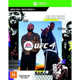 Jogo UFC 4  XBOXONE