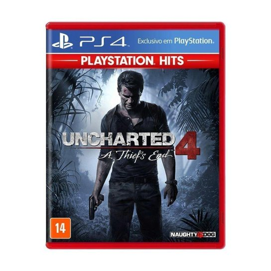 Jogo Uncharted 4: A Thief's End - PS4 - Incolor