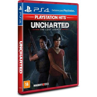 Jogo Uncharted The Lost Legacy Ps4 Playstation Hits Sony