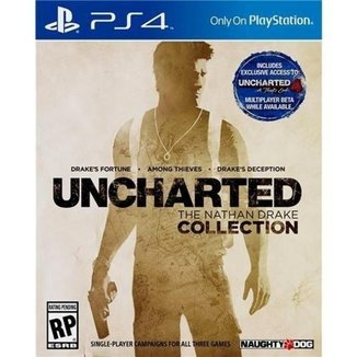 Jogo Uncharted: The Nathan Drake Collection PS4